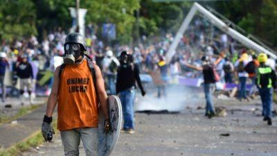 Colombia condena la represión en las protestas contra la Constituyente en Venezuela