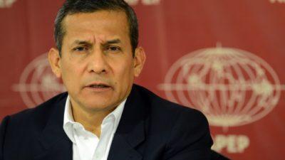 La justicia peruana analiza el pedido de prisión preventiva para Humala caso Odebrecht