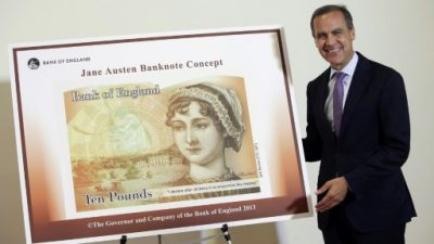 Inglaterra rinde homenaje a su icónica novelista Jane Austen