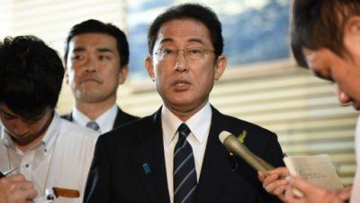 Japón dice que es tiempo de presionar a Corea del Norte, no de dialogar