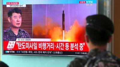 Corea del Norte asegura que todo EEUU está al alcance de sus misiles