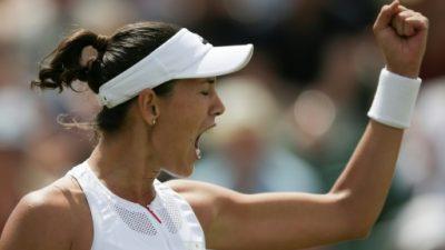 Muguruza elimina de Wimbledon a la nº 1 mundial Angelique Kerber