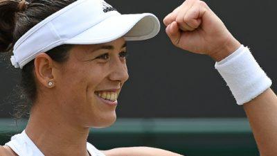 Muguruza barre a Cirstea y pasa a octavos de Wimbledon