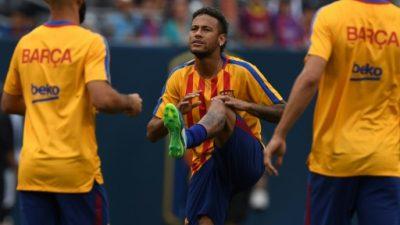 Barcelona vence a la Juventus 2-1 con goles de Neymar