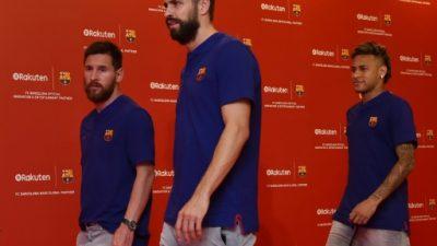 Neymar no sabe qué hacer, asegura Piqué atizando el culebrón Barça-PSG