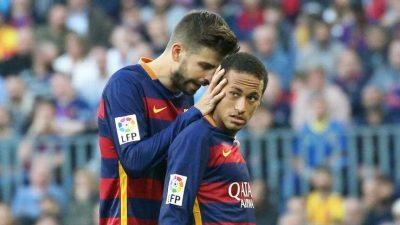 Piqué suma un nuevo episodio al 'culebrón Neymar'