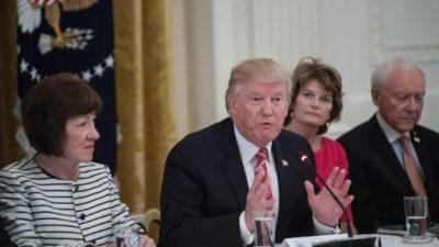 Las dos mujeres que impidieron la reforma sanitaria de Donald Trump
