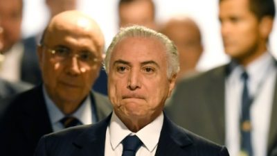 Los abogados de Temer presentan la defensa en la causa por corrupción