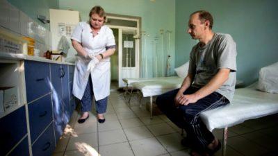 El este rebelde de Ucrania, frente a un riesgo de epidemia de VIH