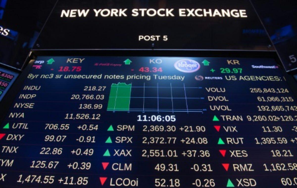 Wall Street sube al amainar la inquietud por Corea del Norte