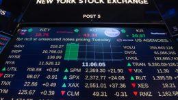 Wall Street termina con un nuevo récord del Dow Jones