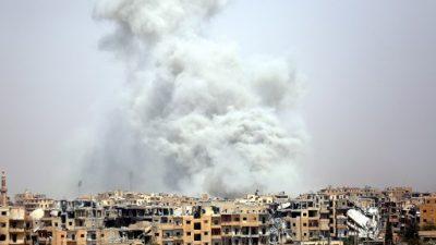 Decenas de civiles muertos en ataques de la coalición en ciudad siria de Raqa