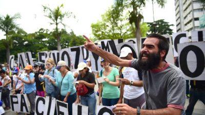 Coalición opositora de Venezuela apoya sanciones de EEUU contra gobierno de Maduro