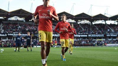 Neymar será titular con el París SG ante el Guingamp