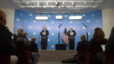"""EEUU y Argentina apuestan a vías pacíficas para """"recuperar"""" democracia en Venezuela"""