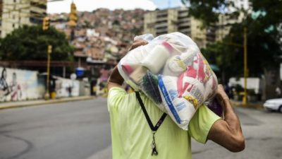Venezolanos exigen a Constituyente más comida y menos costo de vida