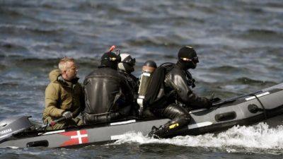 Hallan un torso que podría ser el de una periodista desaparecida en un submarino