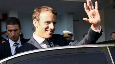 Polémica en Francia por la factura en maquillaje del presidente Macron