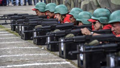 Venezuela realiza maniobras de combate al cierre de ejercicios militares