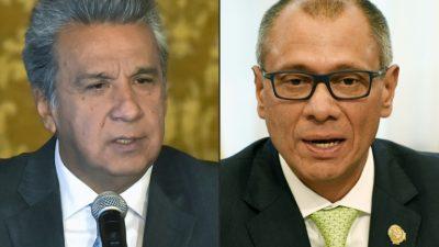 Ecuador: Congreso autoriza juicio penal contra el vicepresidente por Odebrecht