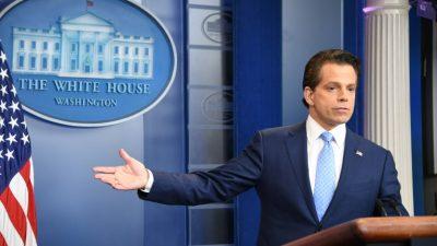 La fugaz saga de Anthony Scaramucci en la Casa Blanca