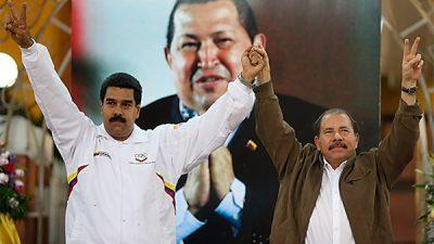 """Nicaragua condena """"atropellos"""" de EEUU contra Venezuela"""