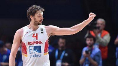 Pau Gasol encabeza la lista de España para el Eurobasket-2017