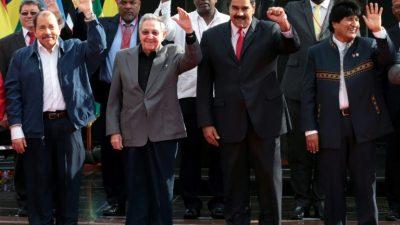 Los respaldos internacionales de Maduro, cada vez menos, pero claves