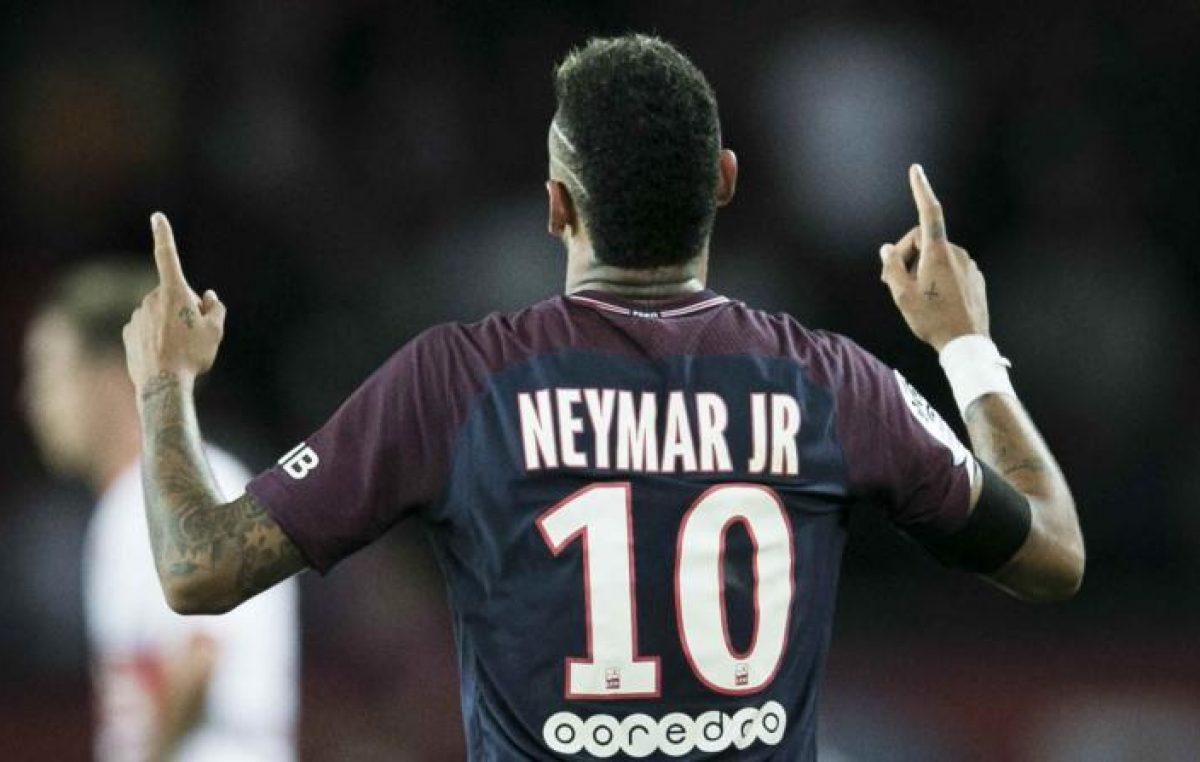 Neymar ya reina en París, su nueva casa