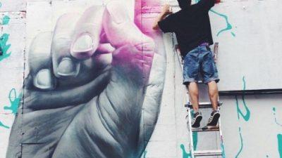 El improbable retorno de las publicidades pintadas a Nueva York