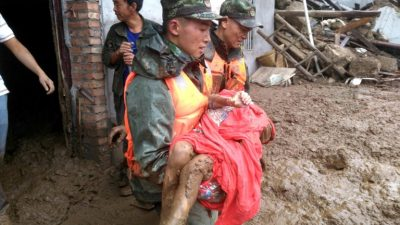 Al menos 19 muertos por el terremoto al suroeste de China