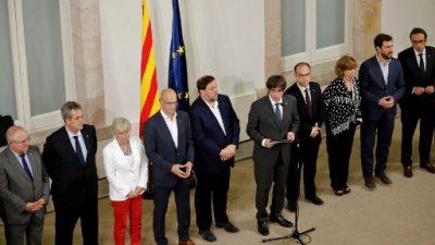Gobierno catalán convoca el referéndum sobre la independencia de España (oficial)
