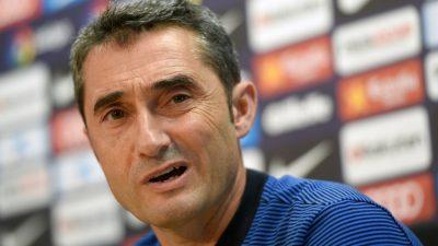 Valverde no adelanta si hará rotar a Messi y Suárez