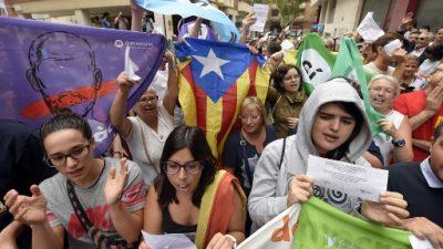En Cataluña, los separatistas no dan su brazo a torcer