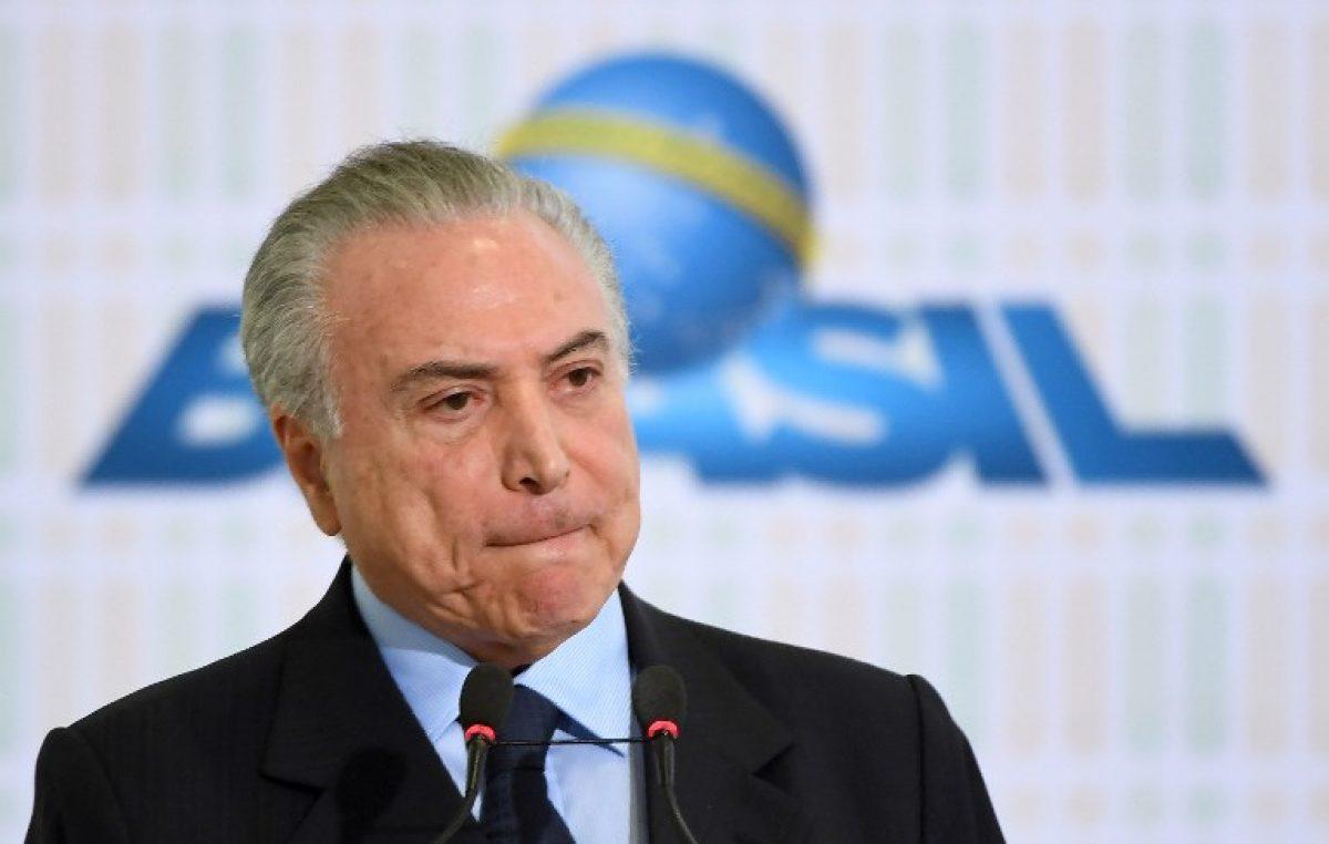 Presidente de Brasil enfrenta más fortalecido nueva denuncia de corrupción