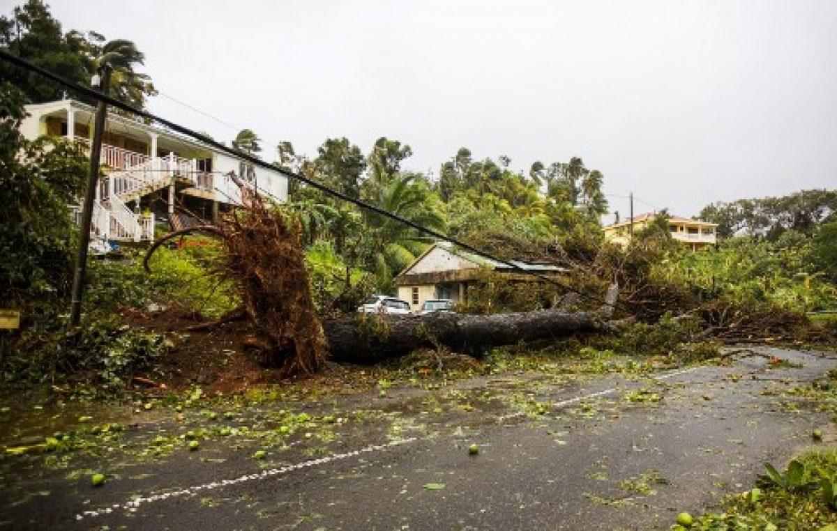 María azota las Islas Vírgenes estadounidenses y amenaza a Puerto Rico