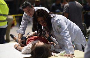 Suben a 224 los muertos por terremoto en México