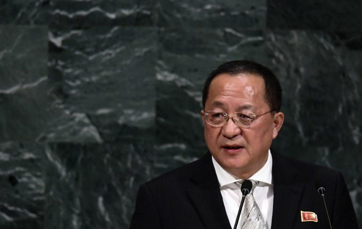 Corea del Norte lanza fuerte diatriba contra Trump en la ONU