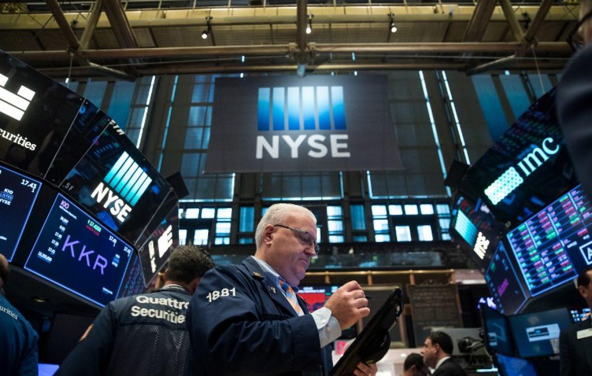 Wall Street en cierre récord impulsada por el sector financiero