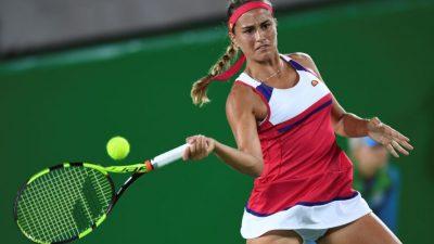 Puertorriqueña Puig se estrena con victoria en Tokio; Carla Suárez eliminada