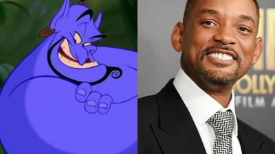 Will Smith será el genio de la lámpara en nuevo Aladdín de Disney