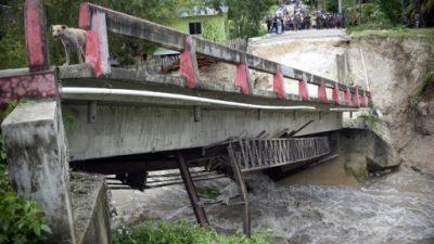 La costa sur de Guatemala en alerta por inundaciones por las lluvias