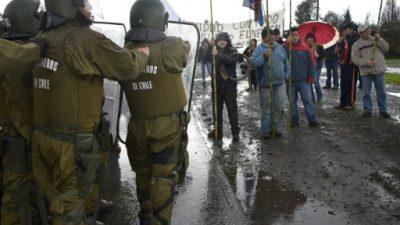 Cuatro presos mapuches cumplen más de 110 días de huelga de hambre