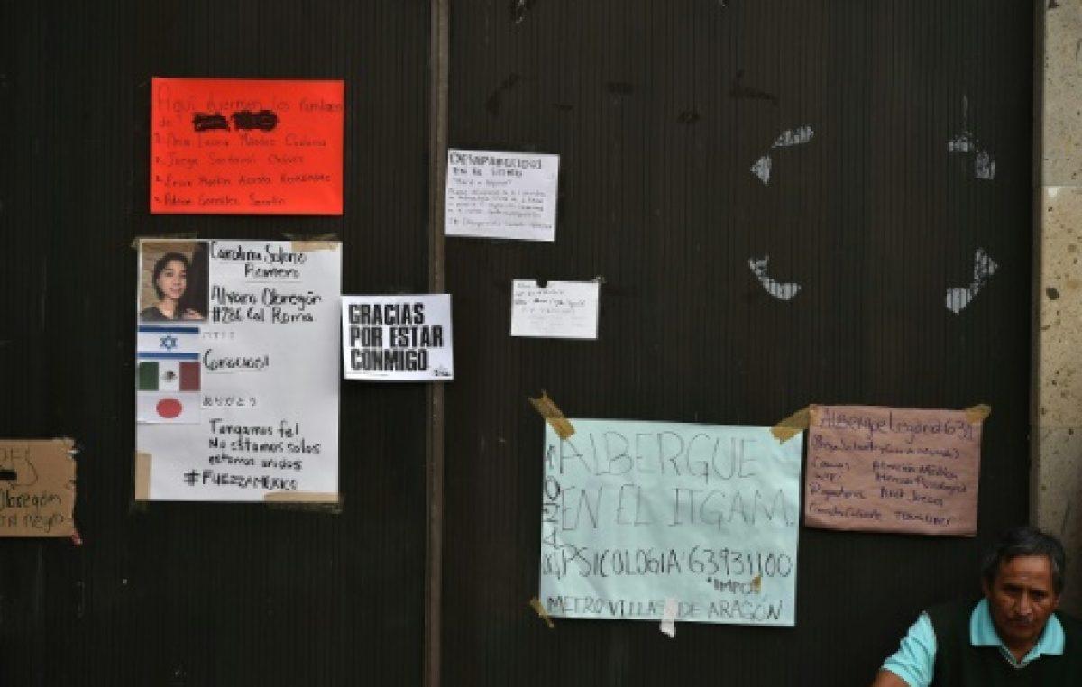 Descartan que haya vida en un edificio de oficinas de México destruido por el sismo