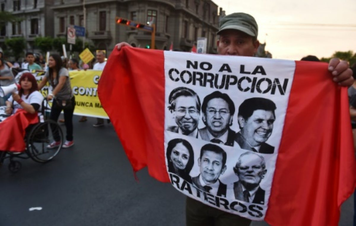 Gobierno de Alan García, Congreso y Poder Judicial percibidos como los más corruptos